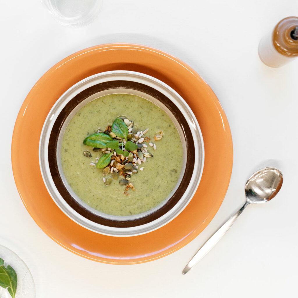 Bild av en lunchsoppa